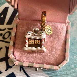 Juicy Couture Rare Gingerbread House Holiday Charm